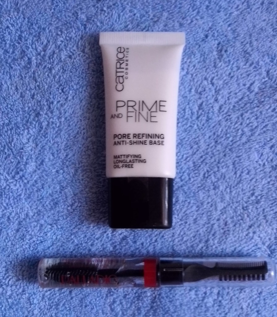 Catrice Primer and Palladio Eyebrow Gel